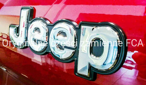Logo Jeep - emblemat do modelu Jeep Renegade